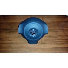 Крышка Airbag (заглушка, муляж) в руль на Volkswagen Polo 2010-2015, Sirocco