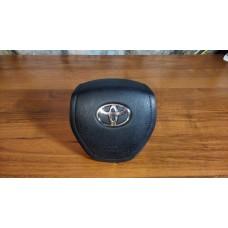Крышка Airbag (заглушка, муляж) в руль на Toyota Rav4 2013 -