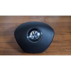 Крышка Airbag (заглушка, муляж) в руль на Volkswagen Polo рестайлинг 2015-