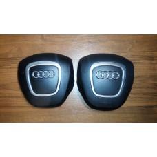 Крышка Airbag в руль (4 спицы) Audi A3, A4, A5, A6, A8, Q5, Q7 в Тюмени