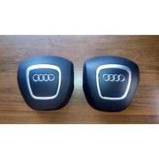 Крышка Airbag в руль (3 спицы) Audi A3, A4, A5, A6, A8, Q5, Q7 в Тюмени