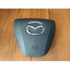Крышка подушки безопасности в руль Mazda 3 Bl